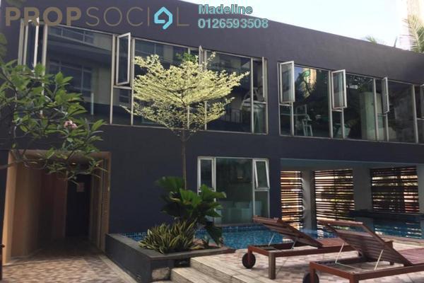 For Rent Condominium at 38 Bidara, Bukit Ceylon Freehold Fully Furnished 2R/2B 2.7k