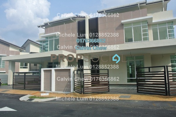 For Sale Semi-Detached at Lake Valley, Bandar Tun Hussein Onn Freehold Unfurnished 5R/0B 984k