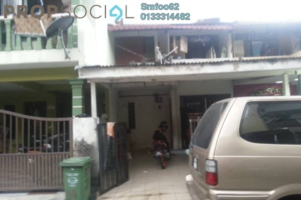 For Sale Terrace at Taman Koperasi Polis Fasa 2, Sentul Freehold Unfurnished 4R/3B 430k