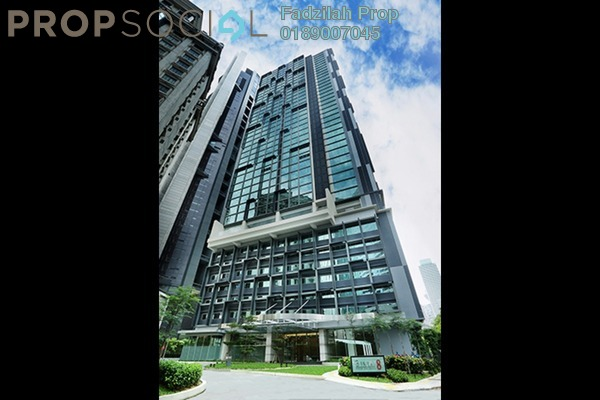 For Rent SoHo/Studio at Binjai 8, KLCC Freehold Fully Furnished 1R/1B 2.4k