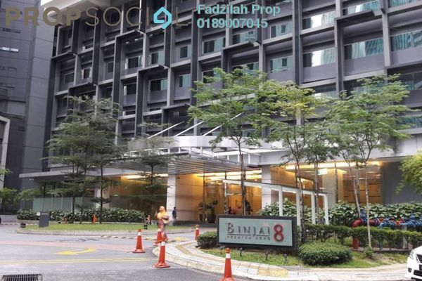 For Rent Serviced Residence at Binjai 8, KLCC Freehold Fully Furnished 1R/1B 3.1k