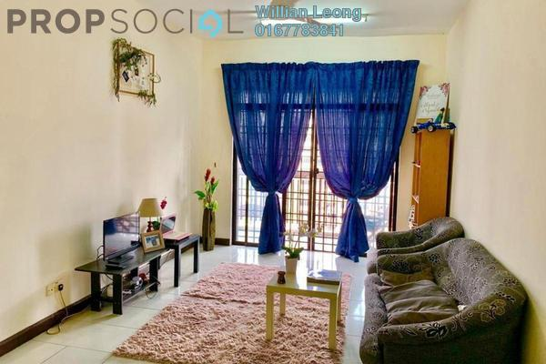 For Sale Condominium at Diamond Residences, Setapak Freehold Fully Furnished 4R/2B 450k