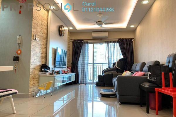 For Sale Condominium at Connaught Avenue, Cheras Freehold Fully Furnished 3R/2B 455k