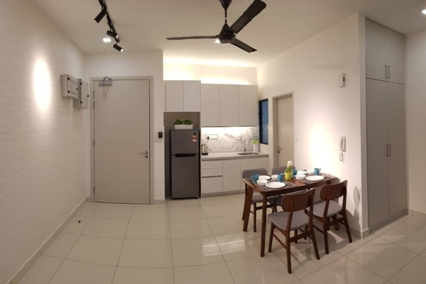For Rent Condominium at The Link 2 Residences, Bukit Jalil Freehold Fully Furnished 2R/1B 2.3k