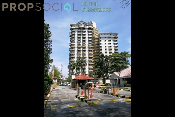 For Rent Condominium at Menara Polo, Ampang Hilir Freehold Semi Furnished 3R/2B 2k