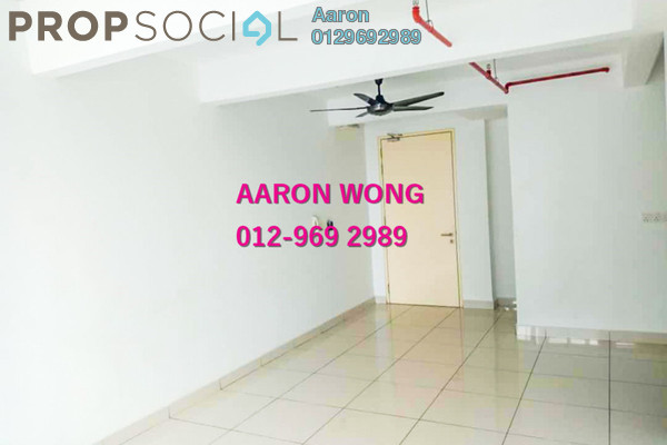For Rent Serviced Residence at De Centrum Residences, Kajang Freehold Semi Furnished 2R/2B 1.5k