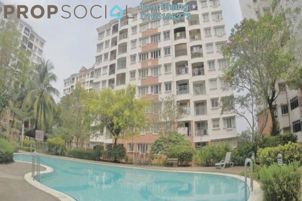 For Sale Condominium at Kenanga Apartment, Pusat Bandar Puchong Freehold Fully Furnished 3R/2B 378k