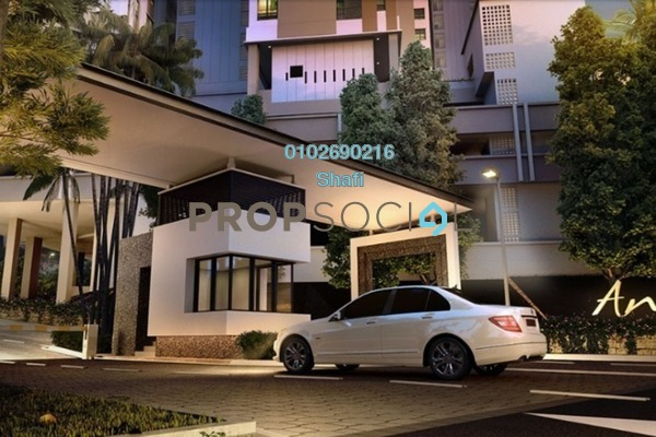 For Rent Condominium at Andana @ D'Alpinia, Puchong Freehold Fully Furnished 3R/2B 2.5k