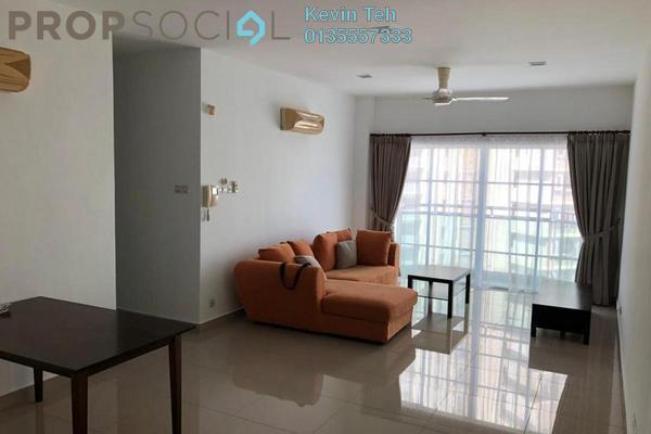For Rent Condominium at Hartamas Regency 2, Dutamas Freehold Semi Furnished 3R/3B 3.3k