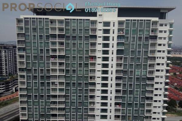 For Sale Condominium at BSP Skypark, Bandar Saujana Putra Leasehold Semi Furnished 3R/2B 450k