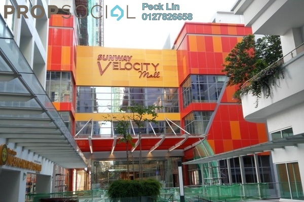For Rent Office at Sunway VeloCity, Cheras Freehold Semi Furnished 0R/1B 7.8k