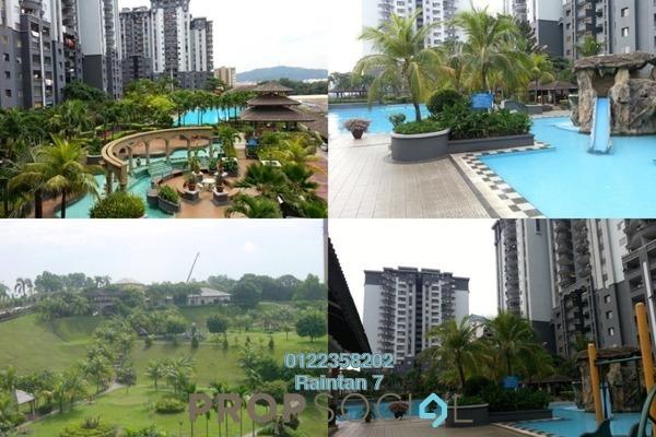 For Sale Condominium at Amadesa, Desa Petaling Freehold Semi Furnished 3R/2B 375k