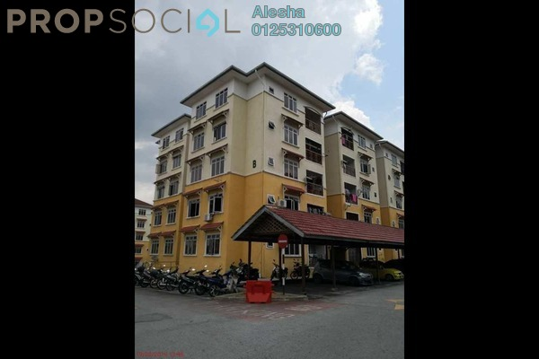 For Sale Apartment at E-mas Villa, Bandar Baru Salak Tinggi Freehold Unfurnished 0R/0B 180k