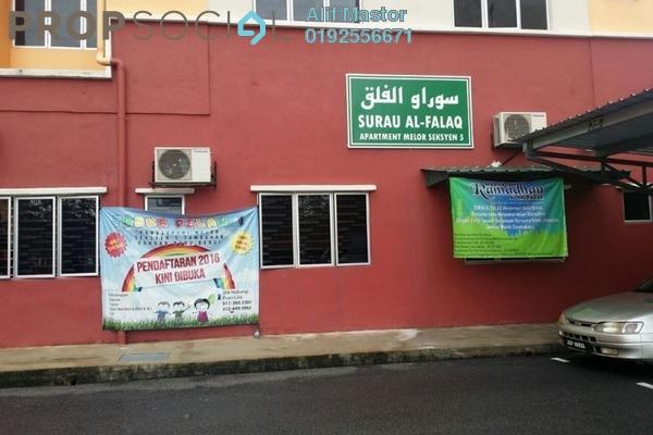 For Sale Apartment at Seksyen 4, Bandar Baru Bangi Freehold Semi Furnished 3R/2B 240k