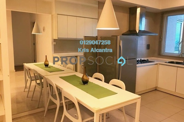 For Rent Condominium at Kiaraville, Mont Kiara Freehold Fully Furnished 2R/2B 3k