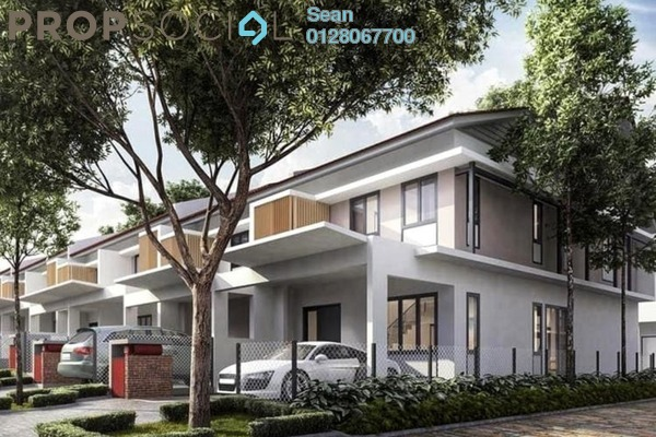 For Sale Terrace at Keranji @ Greenwoods Salak Perdana, Sepang Freehold Unfurnished 4R/4B 460k