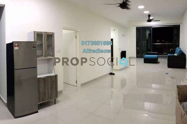 For Rent Condominium at Ascenda Residence @ SkyArena, Setapak Freehold Semi Furnished 3R/2B 1.4k