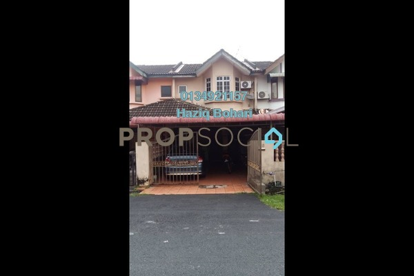 For Sale Terrace at Taman Putra Perdana, Puchong Freehold Semi Furnished 4R/2B 366k