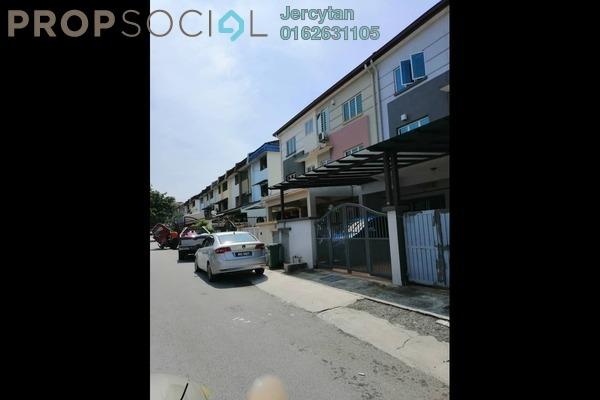 For Sale Terrace at Taman Bukit Intan, Sri Petaling Freehold Semi Furnished 4R/3B 758k