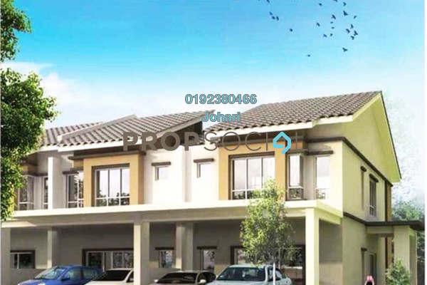 For Sale Terrace at Lukut, Port Dickson Freehold Unfurnished 4R/3B 210k