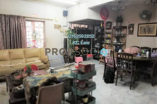 For Sale Terrace at Taman Midah, Cheras Freehold Semi Furnished 4R/3B 905k