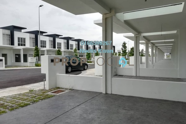 For Rent Terrace at CasaWood @ Cybersouth, Dengkil Freehold Semi Furnished 3R/3B 1.6k