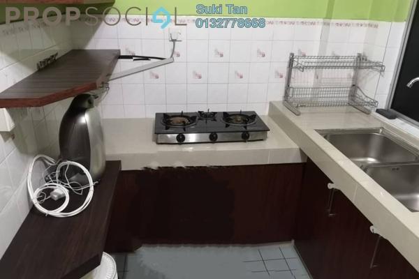 For Sale Apartment at Sri Damansara Court, Bandar Sri Damansara Freehold Semi Furnished 3R/2B 390k