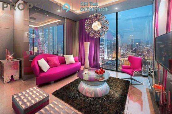For Sale Serviced Residence at Tropicana The Residences, KLCC Freehold Fully Furnished 1R/1B 1.78m