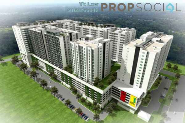 For Sale Serviced Residence at Nadayu 801, Subang Freehold Fully Furnished 3R/4B 570k