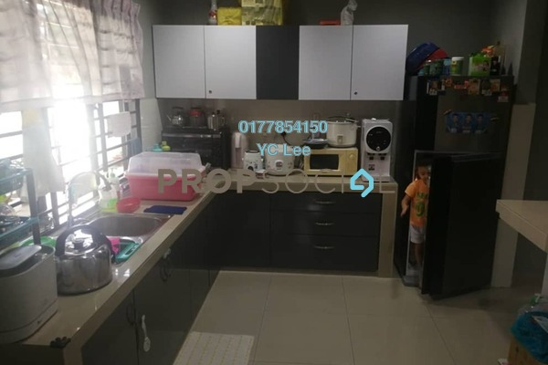 For Sale Terrace at Taman Melur, Ampang Leasehold Semi Furnished 4R/2B 1.1m