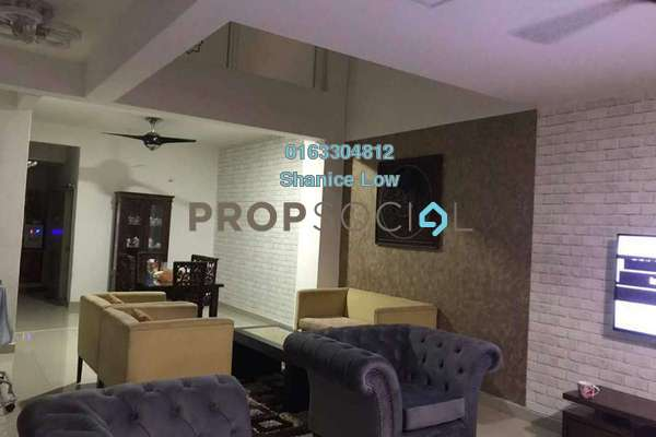For Rent Terrace at Lakeside Residences, Puchong Freehold Semi Furnished 4R/3B 1.8k