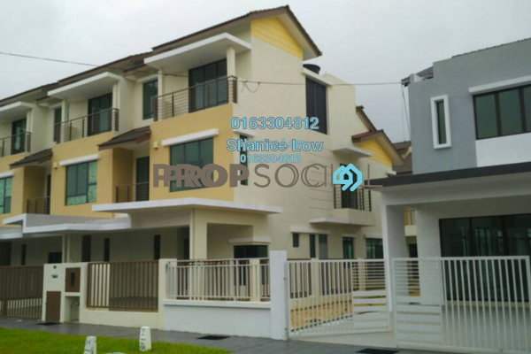 For Rent Terrace at Lakeside Residences, Puchong Freehold Unfurnished 5R/5B 850k