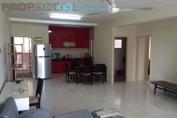 For Rent Condominium at Park View Tower, Butterworth Freehold Fully Furnished 3R/2B 1.1k