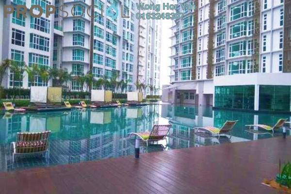 For Rent Serviced Residence at Central SOHO @ Central Residence, Sungai Besi Freehold Fully Furnished 1R/1B 1.4k
