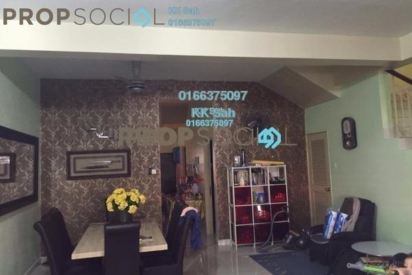 For Sale Terrace at Bandar Puteri Klang, Klang Freehold Semi Furnished 4R/3B 640k