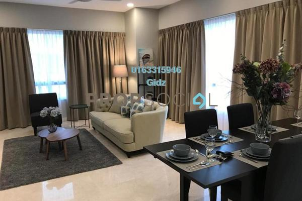 For Rent Condominium at The Sentral Residences, KL Sentral Freehold Fully Furnished 1R/2B 4.1k