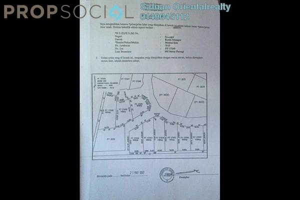 For Sale Land at Sungai Buloh Country Resort, Sungai Buloh Freehold Unfurnished 0R/0B 463k