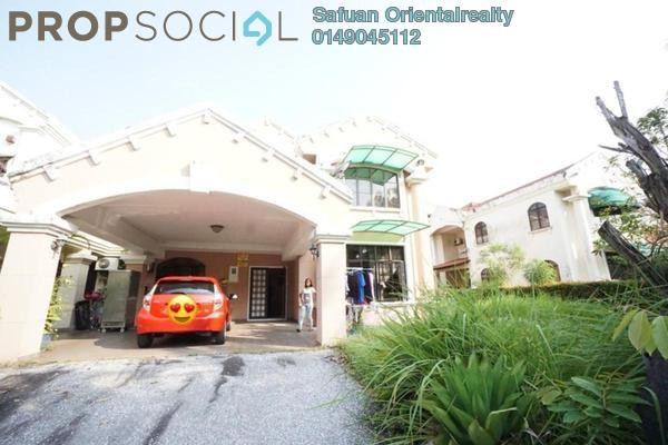 For Sale Semi-Detached at Kelab Golf Sultan Abdul Aziz Shah, Shah Alam Leasehold Semi Furnished 5R/4B 2.1m