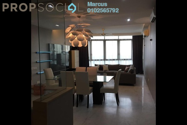 For Rent Condominium at Twins, Damansara Heights Freehold Fully Furnished 3R/3B 5k