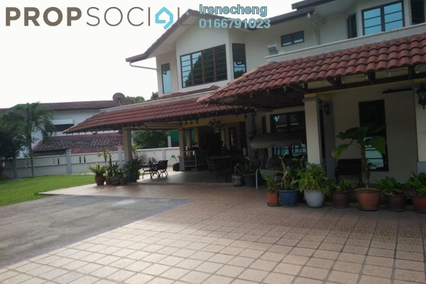 For Sale Bungalow at Section 11, Shah Alam Freehold Fully Furnished 7R/10B 2.9m