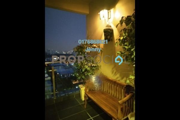 For Sale Condominium at Aman Heights, Seri Kembangan Freehold Semi Furnished 4R/2B 450k