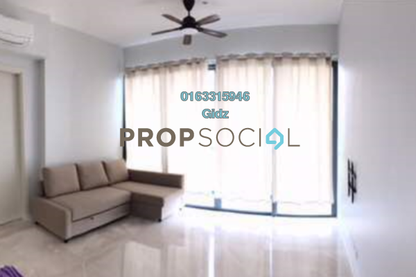 For Sale Condominium at Vogue Suites One @ KL Eco City, Mid Valley City Freehold Fully Furnished 1R/1B 1.28m