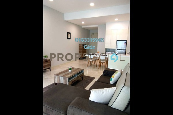 For Sale Condominium at Vogue Suites One @ KL Eco City, Mid Valley City Freehold Fully Furnished 1R/1B 1.02m