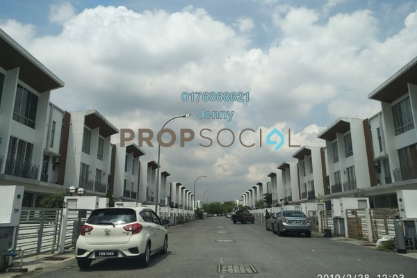 For Sale Townhouse at Summer Homes, Puchong Freehold Unfurnished 4R/4B 775k