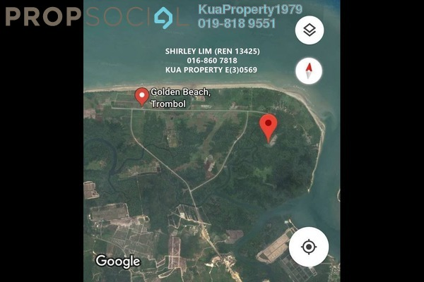 For Sale Land at Jalan Kampung Telaga Air, Petra Jaya Leasehold Unfurnished 0R/0B 756k