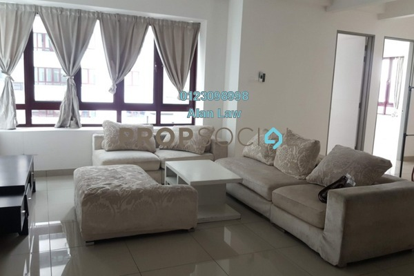 For Rent Condominium at Sentul Rafflesia, Sentul Freehold Semi Furnished 3R/3B 2.1k