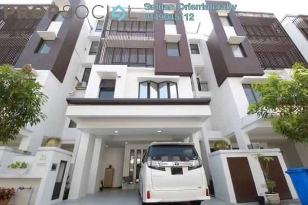 For Sale Townhouse at 50 Residensi, Cahaya SPK Freehold Semi Furnished 4R/3B 899k