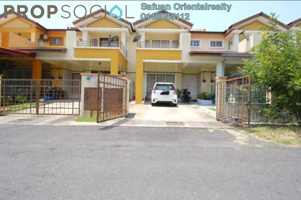 For Sale Terrace at Bandar Saujana Utama, Sungai Buloh Freehold Semi Furnished 4R/3B 450k