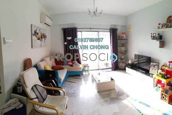 For Sale Condominium at Petaling Indah, Sungai Besi Freehold Fully Furnished 2R/2B 315k