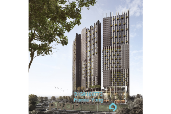 For Sale Serviced Residence at Lumi Tropicana, Tropicana Leasehold Unfurnished 2R/2B 1.02m